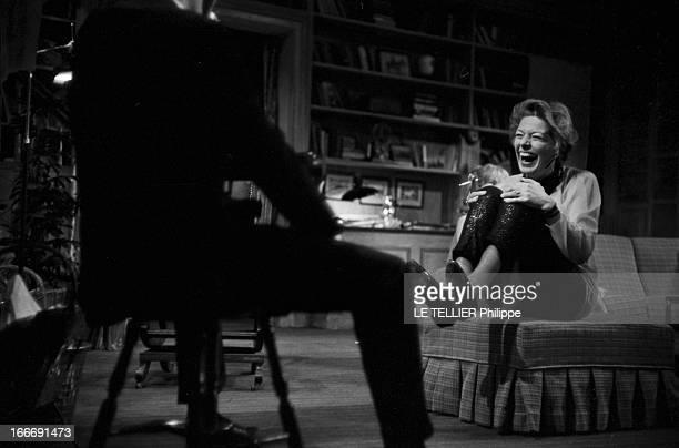 Performance Of The Theater Play 'Qui A Peur De Virginia Woolf'. France, Paris, 24 novembre 1964, la pièce de théâtre américaine 'Qui a peur de...