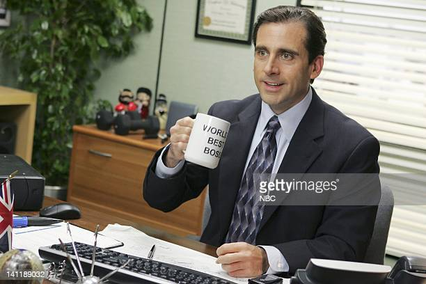 """Performance Review"""" Episode 8 -- Aired -- Pictured: Steve Carell as Michael Scott -- Photo by: Justin Lubin/NBCU Photo Bank"""