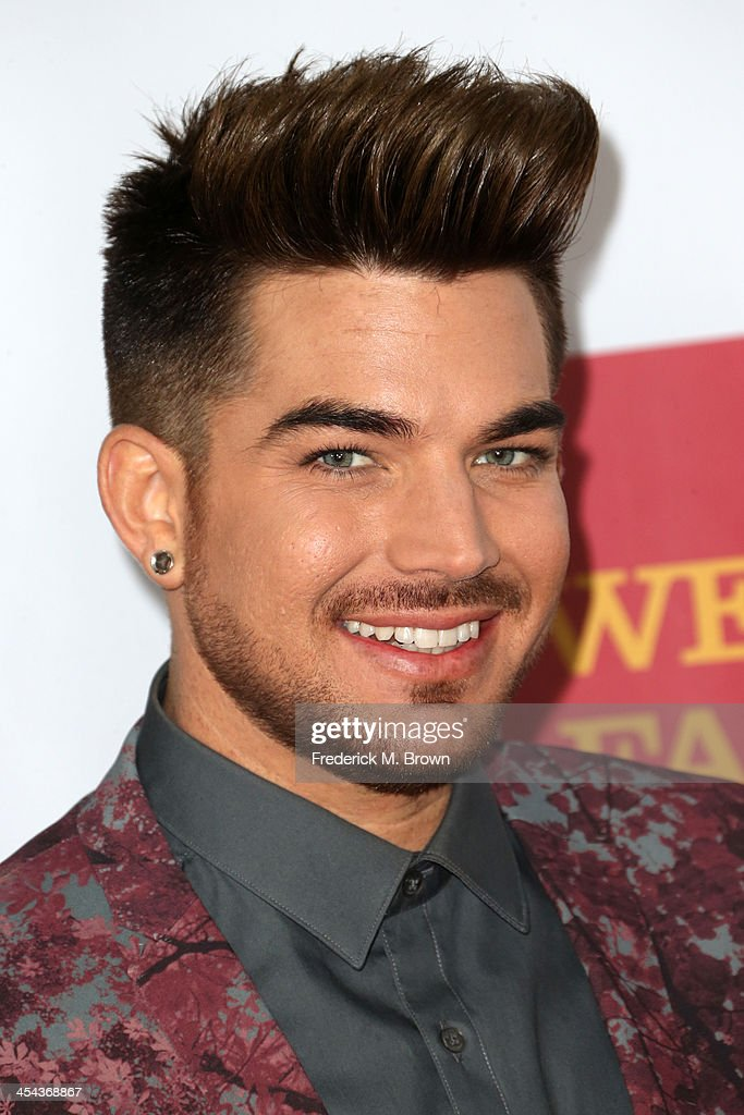 Performer Adam Lambert attends 'TrevorLIVE LA' honoring Jane Lynch and Toyota for the Trevor Project at Hollywood Palladium on December 8, 2013 in Hollywood, California.