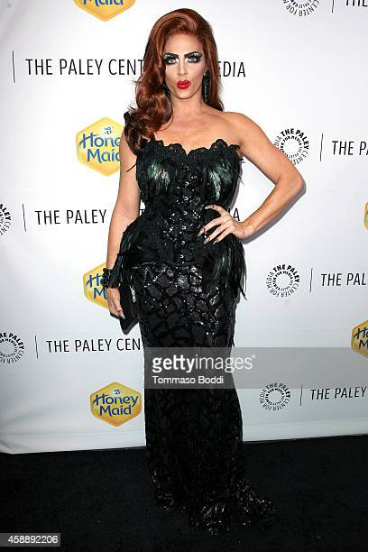 Performer Alyssa Edwards attends the Paley Center for Media's annual Los Angeles gala celebrating television's impact on LGBT equality held at the...