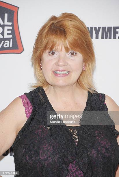 Performer Annie Golden attends the 2013 New York Musical Theatre Festival Preview at The Pershing Square Signature Center on July 2 2013 in New York...