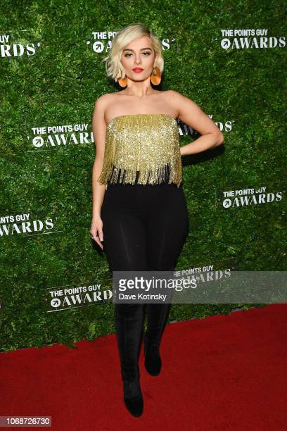 Performer Bebe Rexha attends The Points Guy Awards on December 4 2018 in New York City