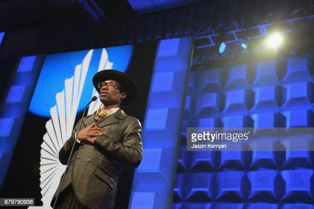 Performer Billy PorterSmith speaks on stage the 28th Annual GLAAD Media Awards at The Hilton Midtown on May 6 2017 in New York City