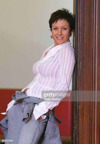 Performer Christa Hughes poses for a portrait during the program launch for the Sydney Film Festival at Customs House on May 8, 2008 in Sydney,...