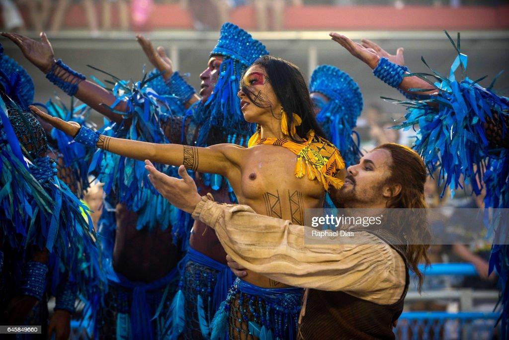 2017 Rio Carnival - Day 1 : News Photo