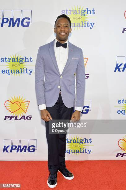 Performer Eric LaJuan Summers attends the ninth annual PFLAG National Straight for Equality Awards Gala on March 27, 2017 in New York City.