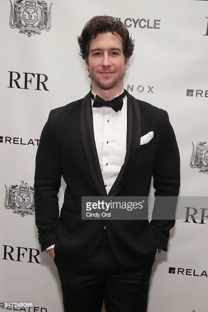 Performer Evan Todd attends as the Hasty Pudding Institute awards Derek McLane with the Order of the Golden Sphinx at The Pierre Hotel on April 16...