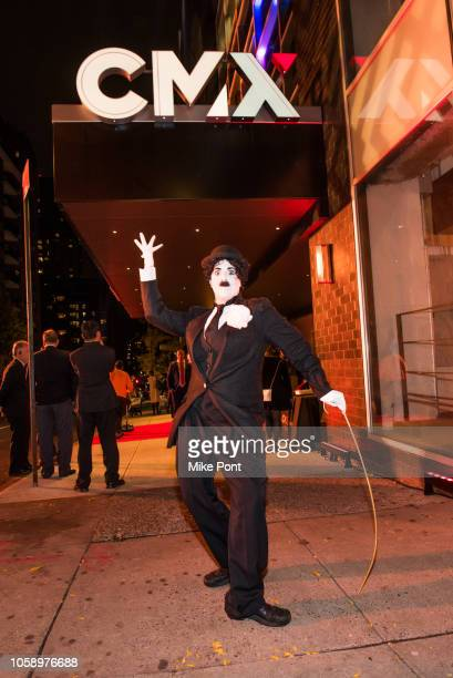 "Performer is seen outside the opening of CMX CineBistro with special screenings of ""BlacKkKlansman"", ""City Lights"", & ""Pretty Baby"" at CMX CineBistro..."