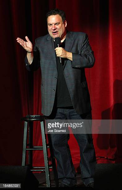 Performer Jeff Garlin performs onstage at the International Myeloma Foundation's 6th Annual Comedy Celebration hosted by Ray Romano benefiting The...