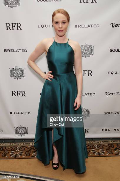 Performer Jessica Keenan Wynn attends as the Hasty Pudding Institute awards Derek McLane with the Order of the Golden Sphinx at The Pierre Hotel on...