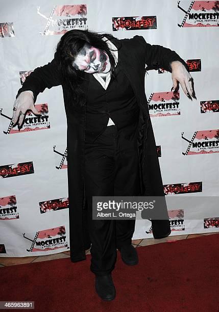 Performer John Granillo attends the ShockFest Film Festival Awards held at Raleigh Studios on January 11 2014 in Los Angeles California