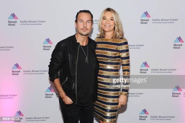 Performer Jonas Myrin and Founder Eva Andersson-Dubin, M.D. Attend 2017 Dubin Breast Center Annual Benefit at the Ziegfeld Ballroom on December 11,...