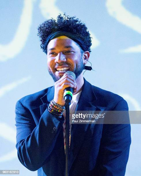 Performer Jussie Smollett performs onstage at SOB's on May 27 2018 in New York City