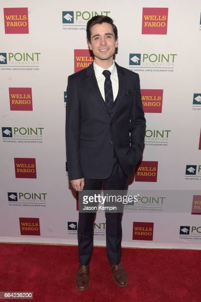 Performer Matt Doyle attends the Point Honors Gala at The Plaza Hotel on April 3 2017 in New York City