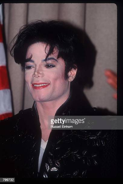 Performer Michael Jackson stands November 2, 1995 in Los Angeles, CA. Jackson, who was the lead singer for the Jackson Five by age eight, reached the...
