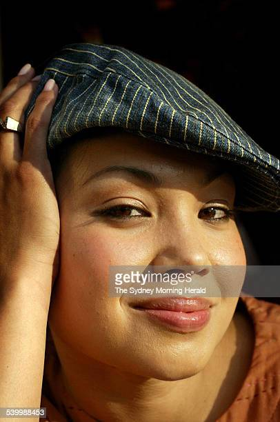 Performer Natalie Mendoza 18 June 2003 SMH Picture by TAMARA DEAN