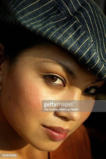 Performer Natalie Mendoza 18 June 2003 SMH Picture by TAMARA DEAN
