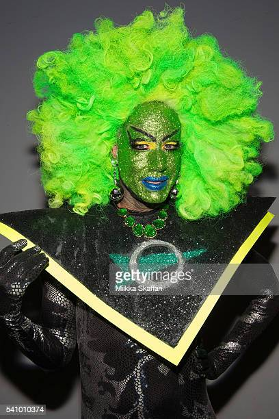 Performer Raya Light arrives at 25th Anniversary Screening of 'Vegas in Space' at Frameline40 film festival on June 17 2016 in San Francisco...