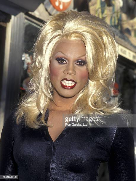Performer RuPaul attends the Third Annual 'Kids for Kids' Celebrity Carnival to Benefit Elizabeth Glaser Pediatric AIDS Foundation on October 1 1995...