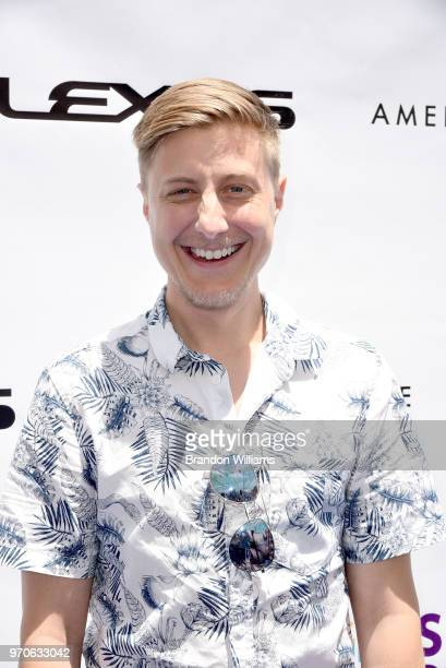 Performer Scott Turner Schofield attends the 3rd Annual 'It Gets Better A Poolside Pool Celebration' event at The Standard Hollywood on June 9 2018...