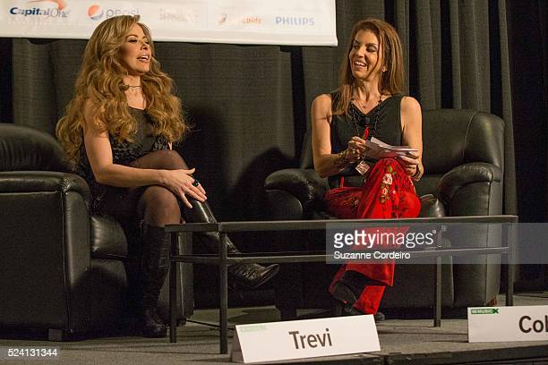 Performer songwriter and multimillion selling recording artist Gloria Trevi participated in a featured session with Executive Director of Billboard...