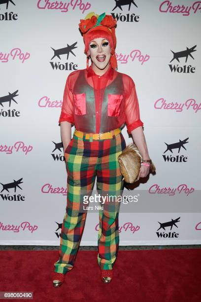 Performer Thorgy Thor attends the Cherry Pop Premiere at OutCinema Presented by NewFest and NYC Pride at SVA Theater on June 19 2017 in New York City
