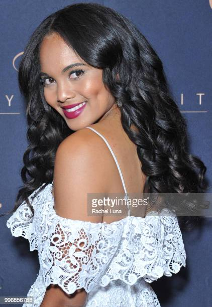 Performer Tiffany Brevard attends City Summit Wealth Mastery And Mindset Edition afterparty at Allure Banquet Catering on July 11 2018 in Van Nuys...