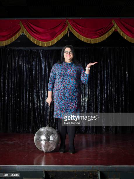Performer writer TV and radio presenter Amy LamÈ is photographed for the Planner magazine on February 12 2017 in London England