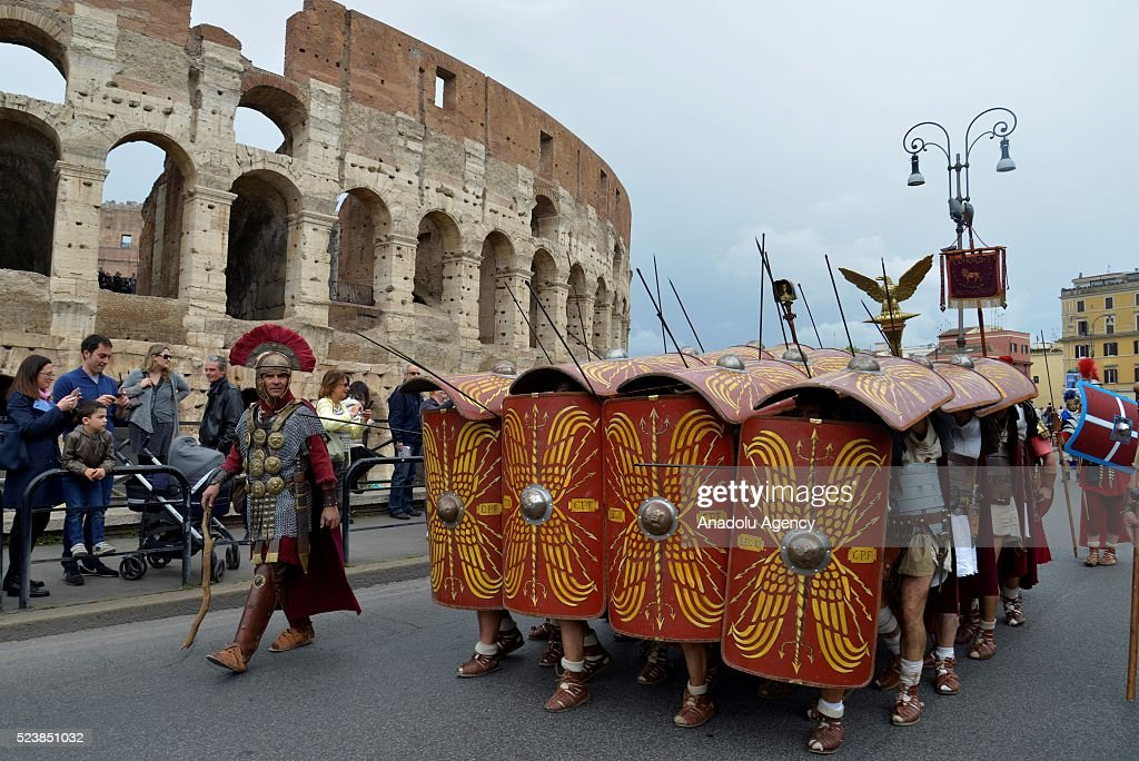 2768th anniversary of founding of rome pictures getty images