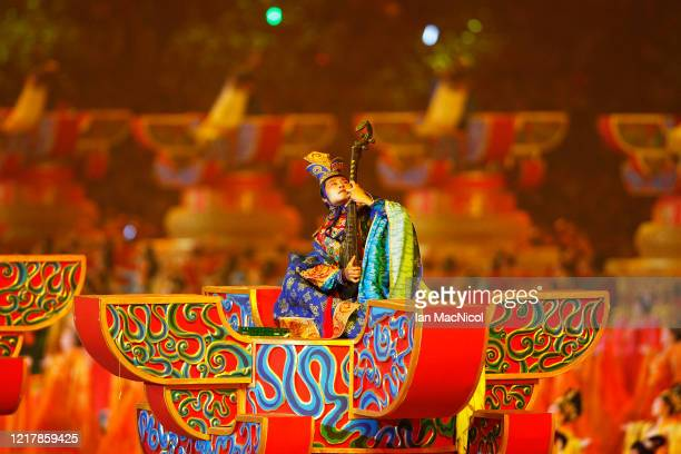 Performers are seen during the opening ceremony of The Beijing Olympic Games on August 08, 2008 in Beijing, China.