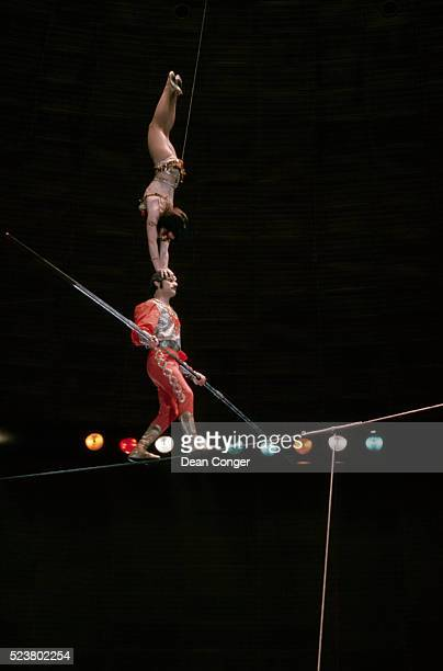 Performers at Moscow Circus