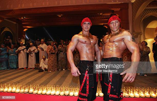 Performers at the grand opening night of the Kerzner Mazagan Beach Resort on October 31 2009 in El Jadida Morocco 1500 guest guests will be...