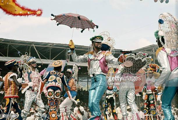 Performers at the Trinidad Carnival February 1967
