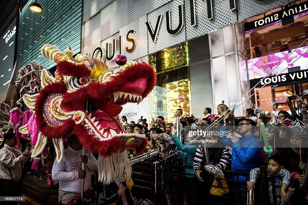 Hong Kong Celebrates Chinese New Year : News Photo