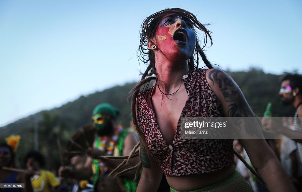 Brass Band Festival Held in Rio : News Photo