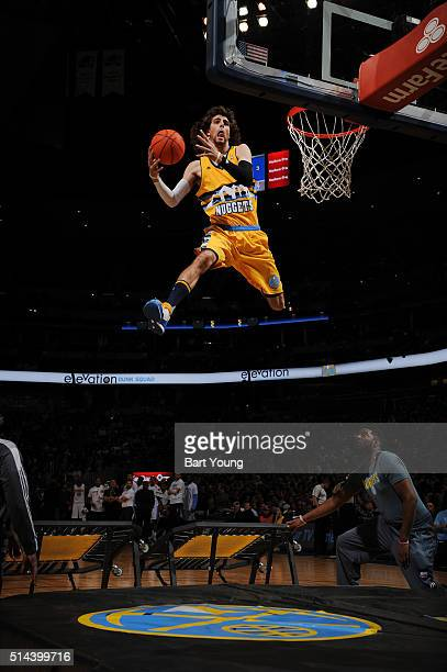 Performers during the game between the New York Knicks and Denver Nuggets on March 8 2016 at the Pepsi Center in Denver Colorado NOTE TO USER User...