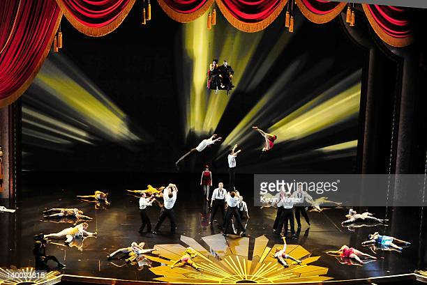 Performers from Cirque du Soleil perform onstage during the 84th Annual Academy Awards held at the Hollywood Highland Center on February 26 2012 in...