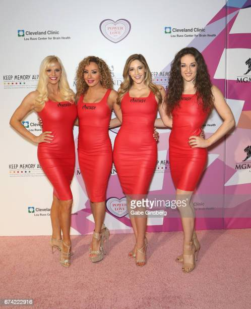 "Performers from the ""Fantasy"" show attend Keep Memory Alive's 21st annual ""Power of Love Gala"" benefit for the Cleveland Clinic Lou Ruvo Center for..."