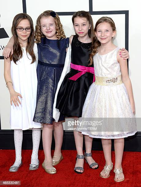 Performers From The Musical Matilda Oona Laurence Milly Shapiro Bailey Ryon And Sophia Gennusa Attend