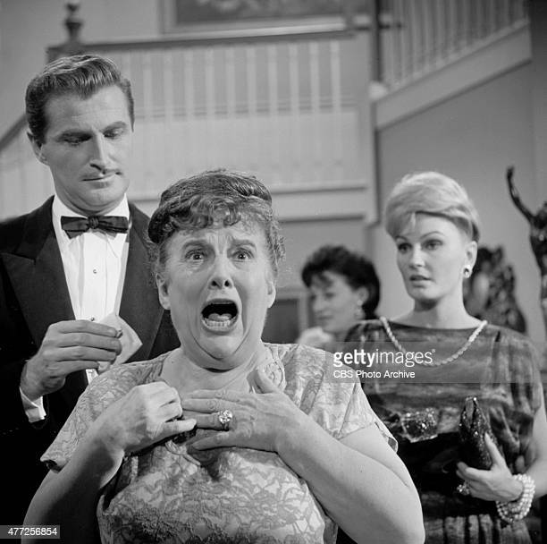 MARTIAN performers Howard Morton Madge Blake and Pamela Curran in the episode 'Raffles No 2' Image dated October 25 1963