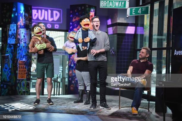 Performers Jason Jacoby Katie Boren and Ben Durocher with composer Jeff Marx visit Build Series for a performance and discussion of the Broadway show...