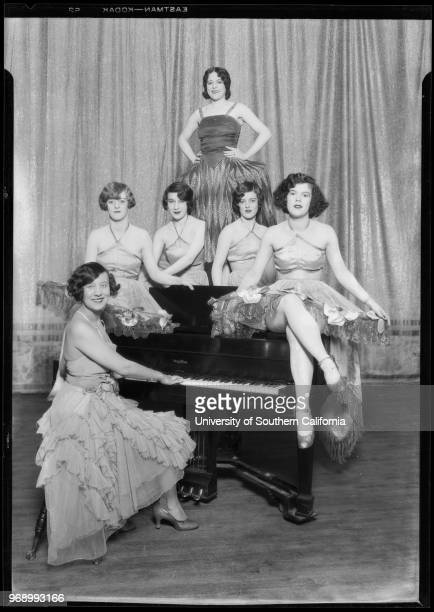 Performers Meiklejohn show at Bard's Theater Southern California 1927