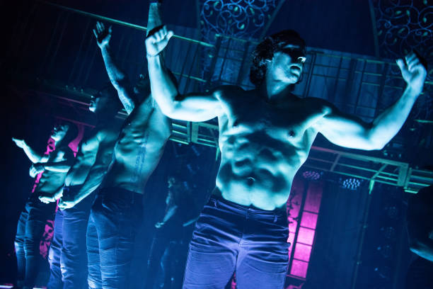GBR: Magic Mike Live - Interviews & Rehearsals