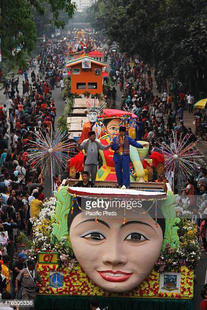 Performers take part in the annual Jakarnaval Carnival in Jakarta Jakarnaval is an annual event that is nuanced cultural parade organized and held by...