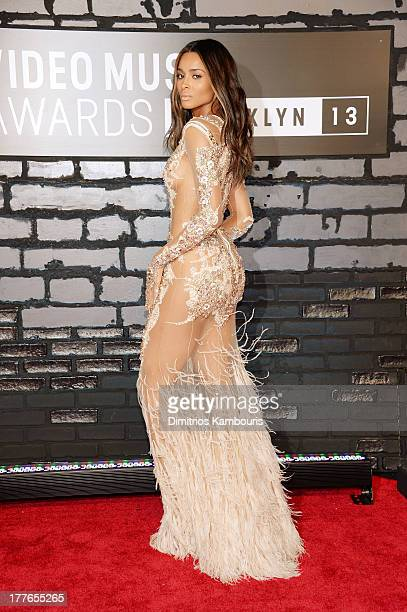 Performing artist Ciara attends the 2013 MTV Video Music Awards at the Barclays Center on August 25 2013 in the Brooklyn borough of New York City