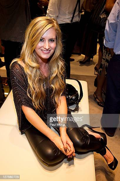 Performing artist Stephanie Quayle attends the BALLY Grand Opening At Tysons Galleria on September 29 2011 in McLean United States