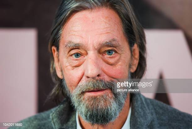 Performing artist Ulay looks into the camera at a press conference on his exhibiton 'Ulay LifeSized' in Frankfurt on the MainGermany 12 October 2016...