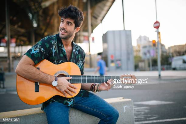 performing on the street - music style stock pictures, royalty-free photos & images