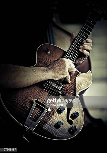 performing - blues stock photos and pictures
