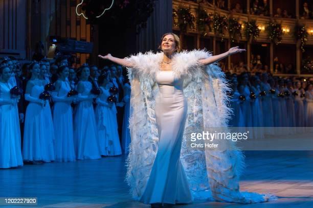 Performing Singer Aida Garifullina during the Opera Ball Vienna at Vienna State Opera on February 20 2020 in Vienna Austria